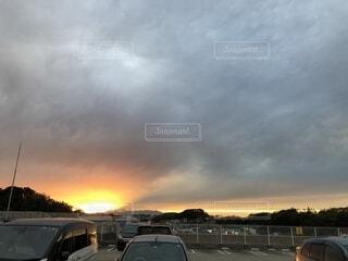 夕日の写真・画像素材[2694293]