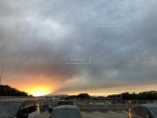 夕日の写真・画像素材[2694297]