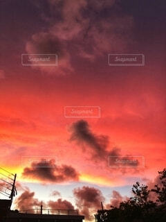 夕焼けの写真・画像素材[2713934]