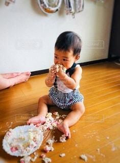 スマッシュケーキのお手本の写真・画像素材[3379124]