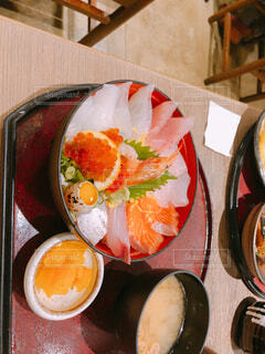 海鮮丼の写真・画像素材[1551371]