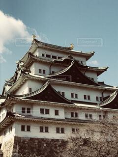 晴天、名古屋城の写真・画像素材[1551624]