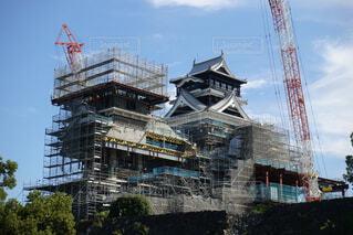 熊本城  修繕の写真・画像素材[1559087]