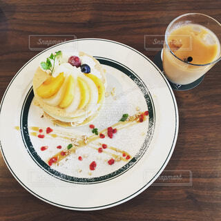 パンケーキの写真・画像素材[1544540]