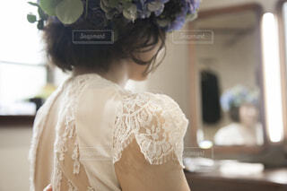 ドレスを着ている人の写真・画像素材[1544704]