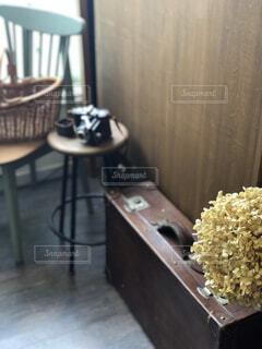 木製テーブル    古道具   アンティークの写真・画像素材[1545218]