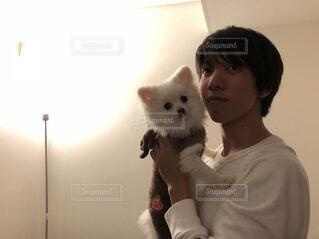 犬と私の写真・画像素材[1546474]