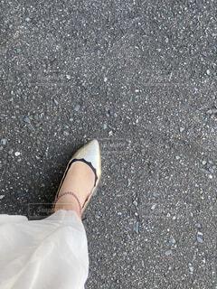 歩いてる一瞬の写真・画像素材[3221741]