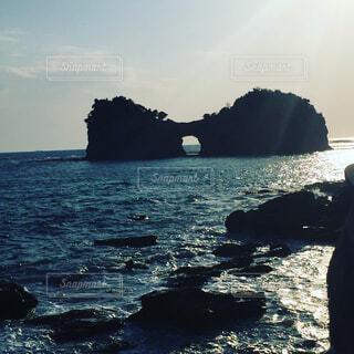 円月島の写真・画像素材[1566467]