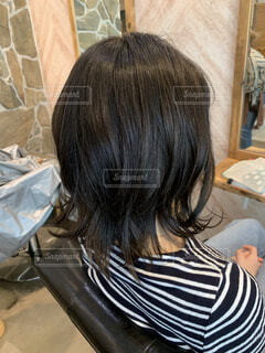ミディアムヘアの写真・画像素材[2064950]