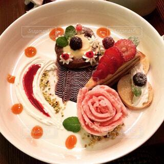 フルーツたっぷり食後のデザート♡の写真・画像素材[1553701]