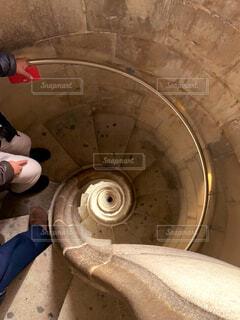 サグラダファミリアの螺旋階段の写真・画像素材[2915363]