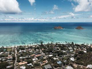Hawaii Lanikai viewの写真・画像素材[1550295]