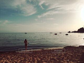 Golden beachの写真・画像素材[1550371]
