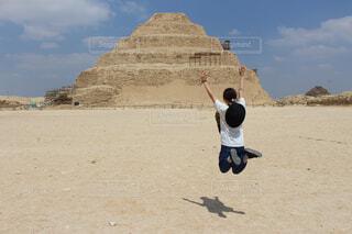 ジョセル王のピラミッド  階段ピラミッドの写真・画像素材[1551007]