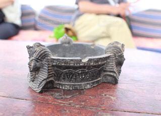ツタンカーメンの灰皿の写真・画像素材[1551433]