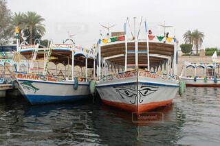カラフルボートの写真・画像素材[1551484]