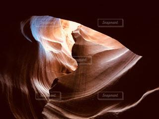 ハートに見えるアンテロープの写真・画像素材[1553173]