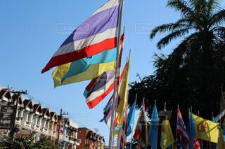 コムロイ祭りの日のチェンマイの写真・画像素材[1559771]