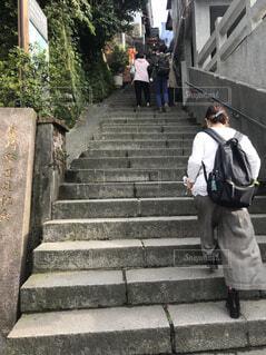 九份へ続く階段の写真・画像素材[1566118]