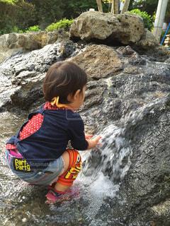 水遊びの写真・画像素材[1566897]