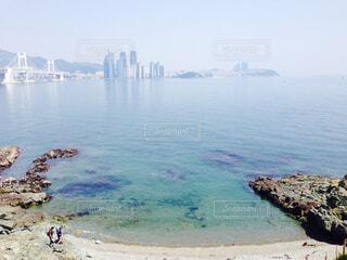 海と街の写真・画像素材[1566939]