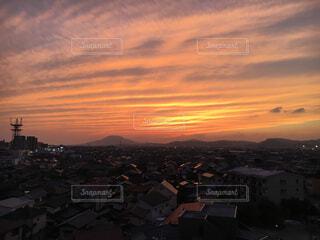 夕焼け空の写真・画像素材[1550802]