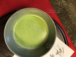 一杯の抹茶の写真・画像素材[1668841]