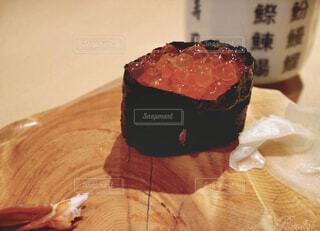 いくらのお寿司の写真・画像素材[1692334]