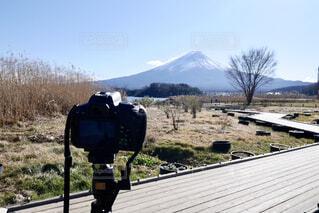富士山を撮るの写真・画像素材[1696105]