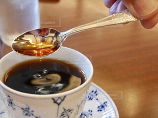 ブラックコーヒーの写真・画像素材[1722015]