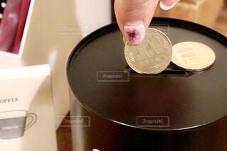 500円玉貯金の写真・画像素材[1744613]
