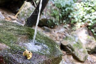 岩と水の写真・画像素材[1764501]