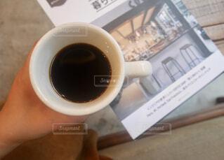 一杯のコーヒーの写真・画像素材[1772516]