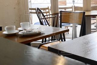 レトロなカフェ店内の写真・画像素材[1781943]