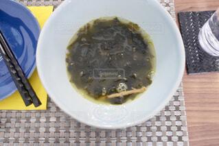 わかめスープの写真・画像素材[1821413]