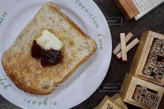 ジャム食パンの写真・画像素材[1863519]
