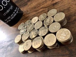 500円硬貨の写真・画像素材[2113501]