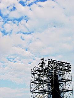 ライブの日の空の写真・画像素材[1552928]