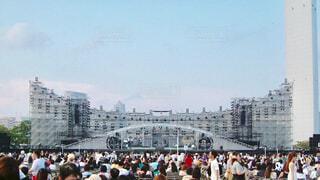 野外ライブステージの写真・画像素材[1553844]