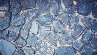 石畳の地面の写真・画像素材[1600616]