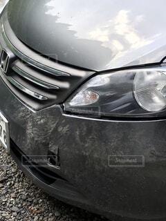 近くに車のアップの写真・画像素材[1557606]