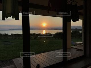 夕日の写真・画像素材[1554356]