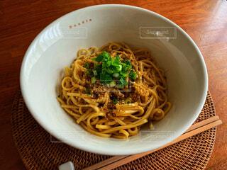 汁なし担々麺の写真・画像素材[1714060]