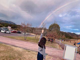 虹🌈の写真・画像素材[1723267]