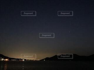 夜空の写真・画像素材[1744897]