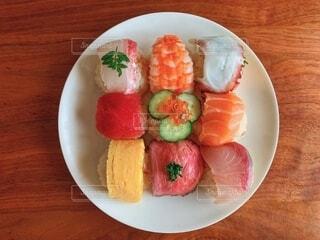 手まり寿司の写真・画像素材[1822981]