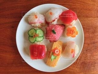 手まり寿司の写真・画像素材[1822987]