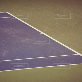 テニスコートの写真・画像素材[13536]