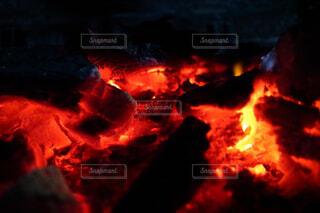 炭火の写真・画像素材[1559487]